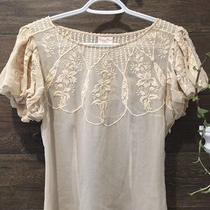 Tracy Reese Lace Top